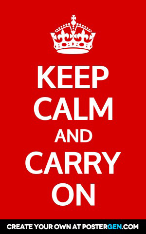 Keep Calm Generator - PosterGen.com