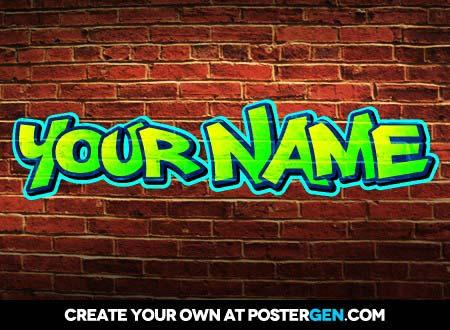 graffiti creator  postergen
